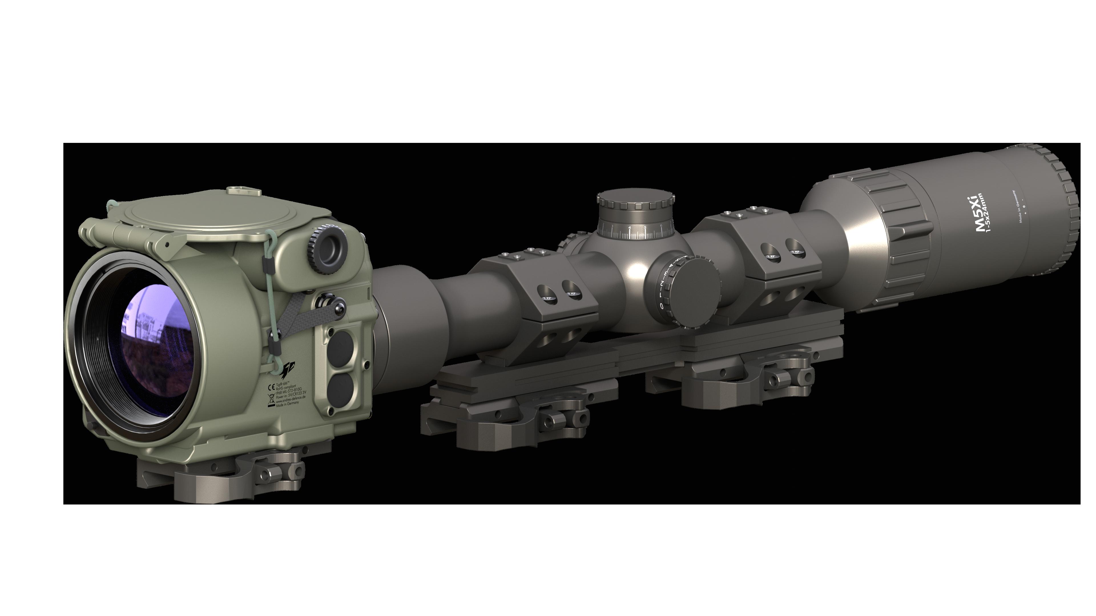 TigIR-6M_Front_Zielfernrohr